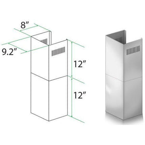 ZLINE Short Kit for 7 ft. to 8 ft. Ceilings (SK-KB/KL2/KL3) - Shop For Kitchens