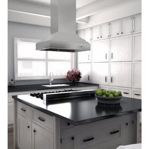 ZLINE 36 in. 1200 CFM Outdoor Island Mount Range Hood in Stainless Steel (697i-304-36) - Shop For Kitchens