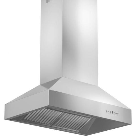 ZLINE 60 in. 1200 CFM Island Mount Range Hood in Stainless Steel (697i-60) - Shop For Kitchens