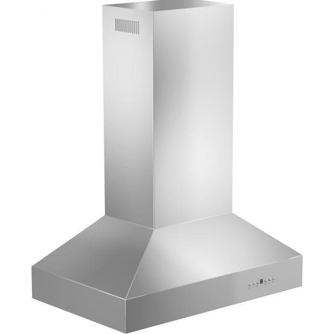 ZLINE 36 in. 400 CFM Remote Blower Island Mount Range Hood in Stainless Steel (697i-RS-36-400) - Shop For Kitchens
