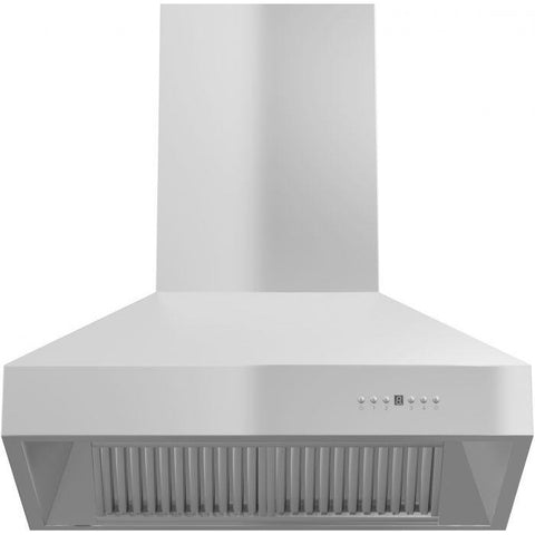 Image of ZLINE 36 in. 1200 CFM Island Mount Range Hood in Stainless Steel (697i-36) - Shop For Kitchens
