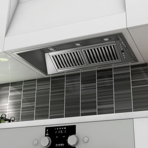 Image of ZLINE 40 in. 1200 CFM Range Hood Insert in Stainless Steel (721-40) - Shop For Kitchens