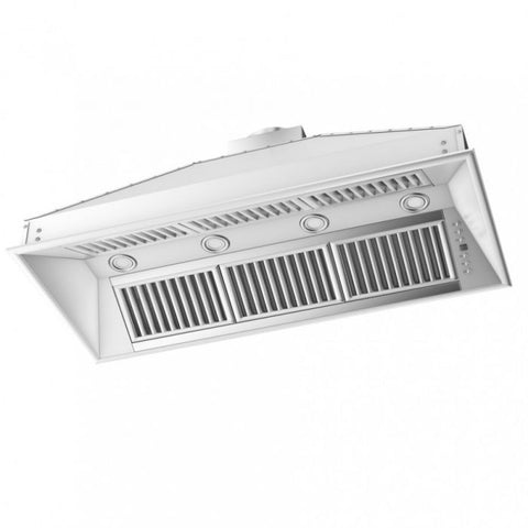 Image of ZLINE 46 in. 1200 CFM Remote Blower Range Hood Insert in Stainless Steel (721-RD-46) - Shop For Kitchens