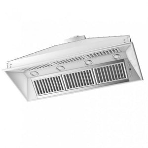 ZLINE 46 in. 1200 CFM Remote Blower Range Hood Insert in Stainless Steel (721-RD-46) - Shop For Kitchens