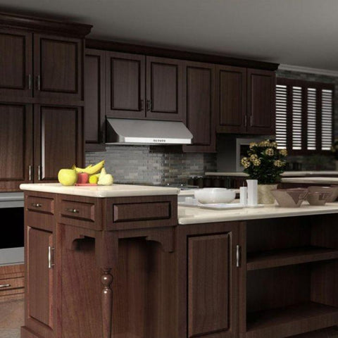 Image of ZLINE 36 in. Under Cabinet Stainless Steel Range Hood with 600 CFM Motor (623-36) - Shop For Kitchens