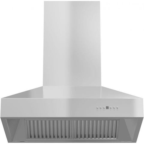 ZLINE 42 in. 1200 CFM Wall Mount Range Hood in Stainless Steel (667-42) - Shop For Kitchens