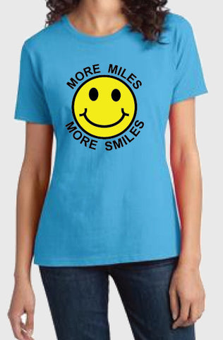More Miles More Smiles Men's Classic Tee