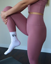 Load image into Gallery viewer, PERFORMANCE LEGGINGS- MOCHA PINK