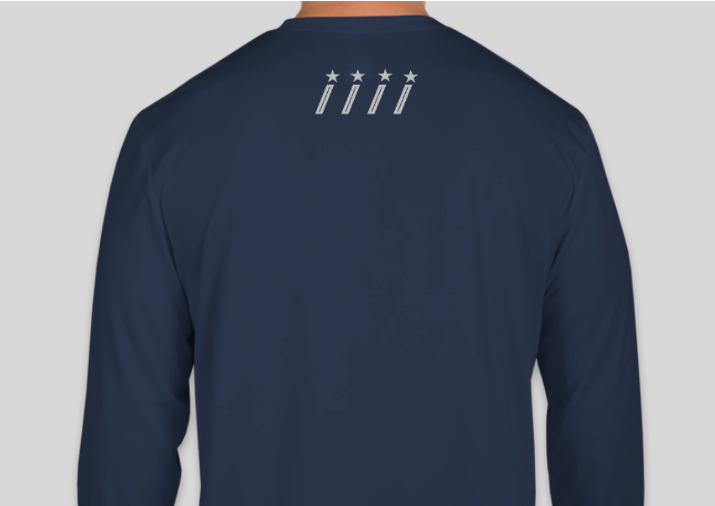 UPF 50+ Long Sleeve Range Shirt- Navy