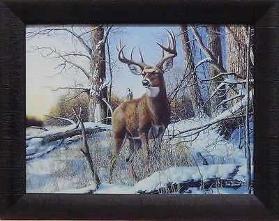 Hansel, After the Season Framed Acrylic Studio Canvas (19x15)