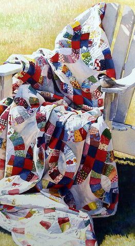 Adele Earnshaw Something Old Something New Quilt Print