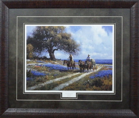 Martin Grelle Sweet smell of Spring-Framed