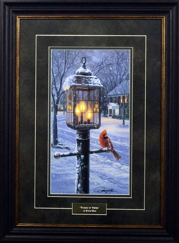 Darrell Bush Warmth of Winter-Framed