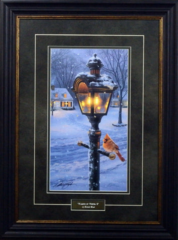 Darrell Bush Warmth of Winter II-FRAMED