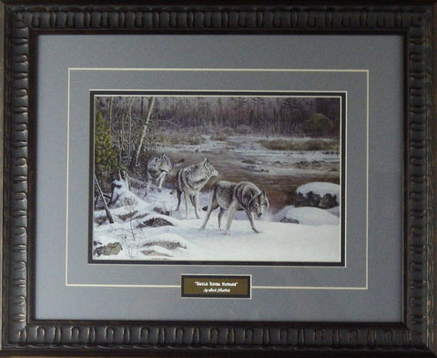 Scott Zoellick Brule River Passage- Framed