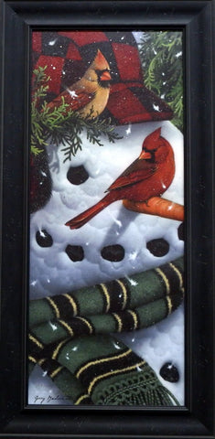 Jerry Gadamus Frosty's Cardinals-Framed