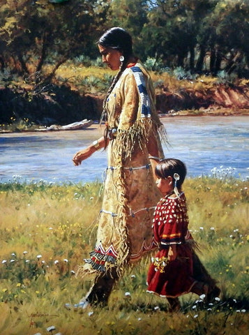 Martin Grelle Summer on Greasy Grass