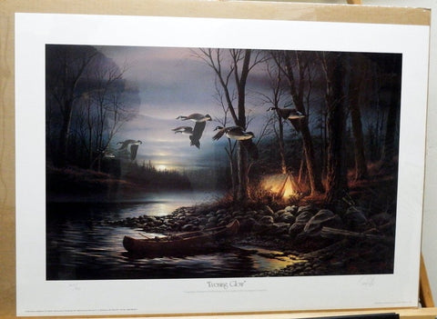 Terry Redlin Evening Glow Signed and numbered with Certificate