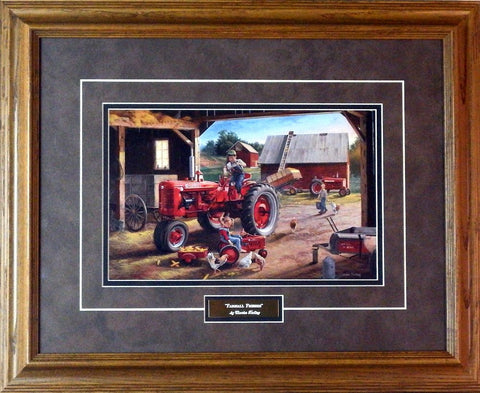 Charles Freitag Farmall Friends-Framed