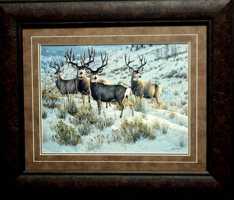 Cynthie Fisher Members Only Deer Print-Framed