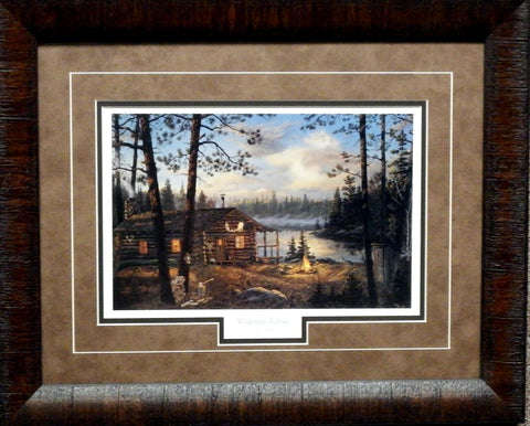 Terry Doughty Wilderness Echoes- Framed
