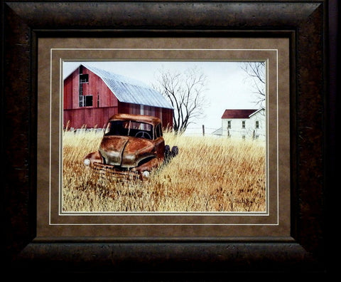 Billy Jacobs Granddad's Old Truck Framed (LG)