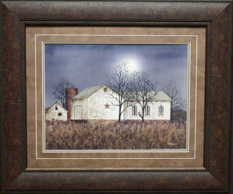 Billy Jacobs Evening Chores Country Farm Print-Framed