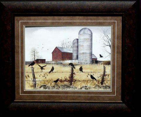Copy of Billy Jacobs Fall Gathering Print-Framed