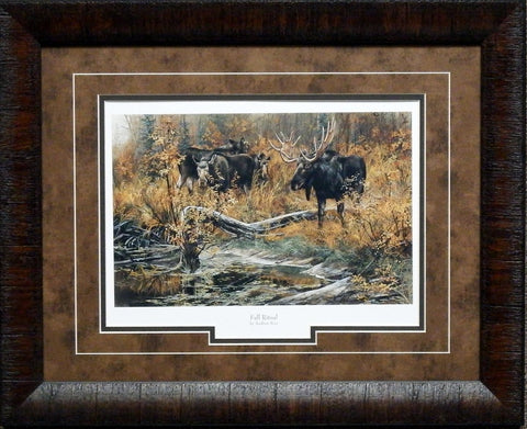Andrew Kiss Fall Ritual Moose-Framed