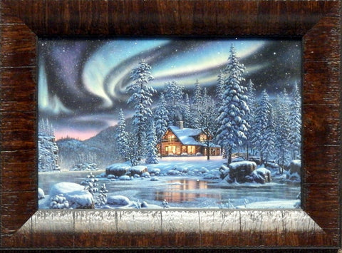Kim Norlien Aurora Bliss Northern Lights Print-Framed