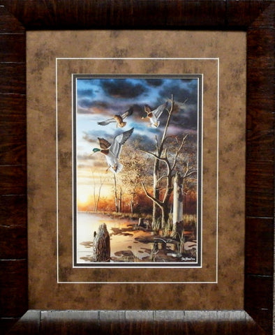 Jim Hansel Evening Splendor- Framed
