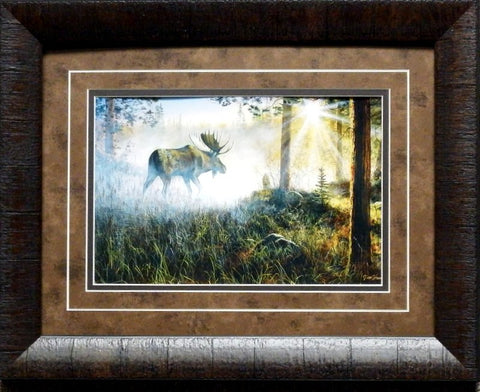 Jim Hansel A Walk in the Mist-Framed