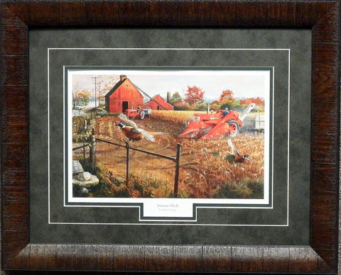 Charles Freitag Autumn Flush-Framed