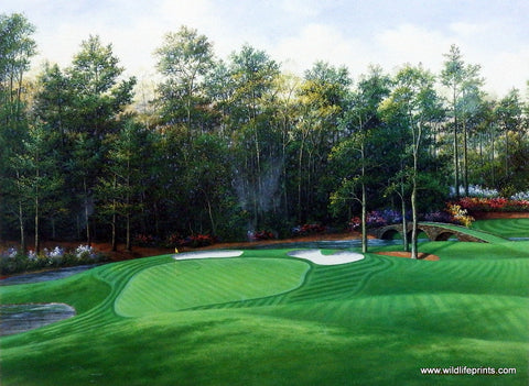 Charles Beck Picture 11th Green at Augusta National