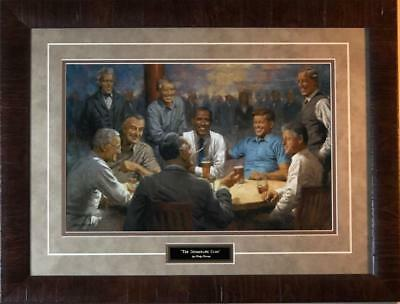 Andy Thomas The Democratic Club Art Print-Framed