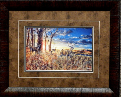 "Jim Hansel Out for the Evening- Framed - 21""x17"" Open Edition"