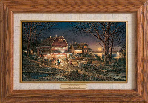 Terry Redlin Harvest Moon Ball Master Stroke-FREE SHIPPING