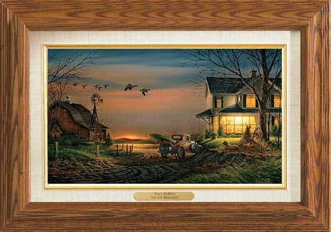 Terry Redlin Special Memories Master Stroke-FREE SHIPPING