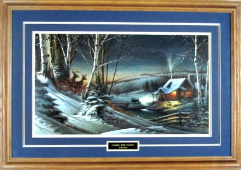 Terry Redlin Evening with Friends Elite-Framed