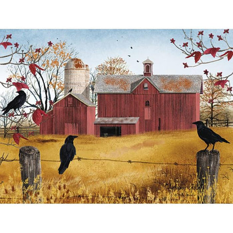 Billy Jacobs Autumn Gold Art Print - 24 x 18