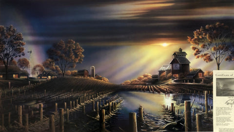 Terry Redlin After the Storm Farm Nostalgic Art Print