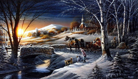 Terry Redlin Almost Home