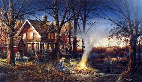 Terry Redlin Autumn Evening
