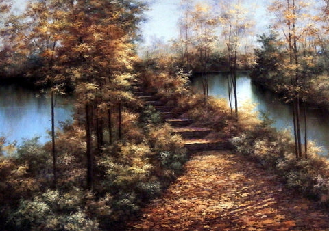 Diane Romanello Fall Autumn Landscape Art Print