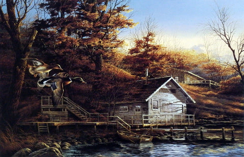 Terry Redlin Autumn Shoreline