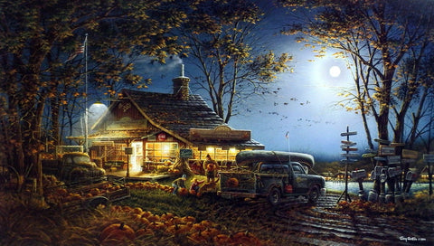 Terry Redlin Autumn Traditions Wildlifeprints Com
