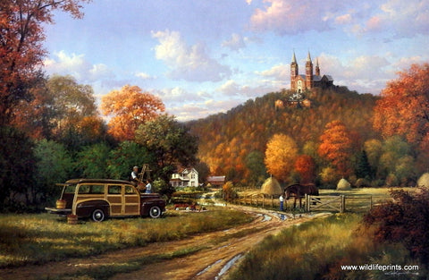 George Kovach Autumn at Holy Hill