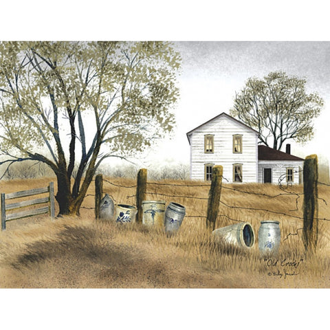Billy Jacobs Old Crocks Country Farm Art Print