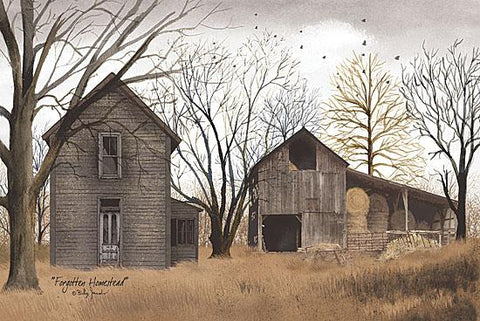 Billy Jacobs Forgotten Homestead Country Art Print 18 x 12