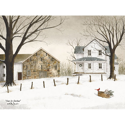 Billy Jacobs Home for Christmas Art Print